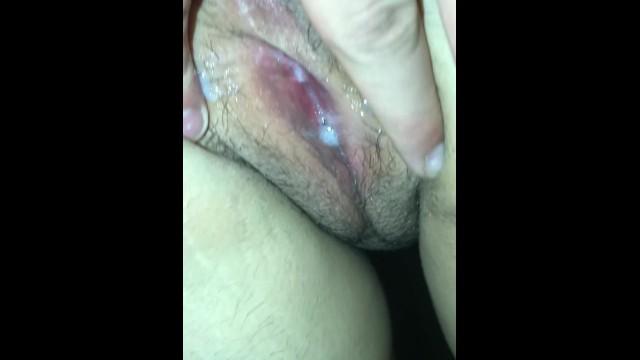 Super Tight Wet Pussy Creampie