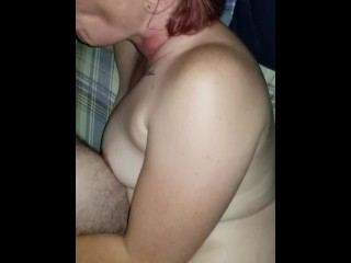 hot amateur wife with glasses sucks my cock in homemade video part 3