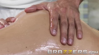 Brazzers - Samantha Saint loves massages and big cock