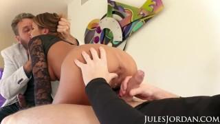 Jordan double adriana jules creampie anal chechik spit kissing