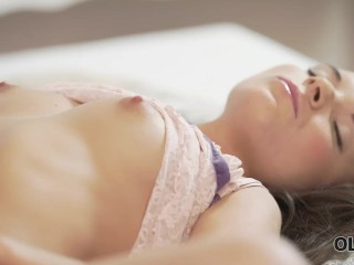 OLD4K. Anal sex is the way young gal wanted to be fucked by old dad