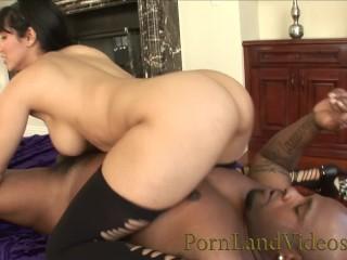 White room anissa kate brunette milf slut having fun with big black bull pornlandvideos isis l