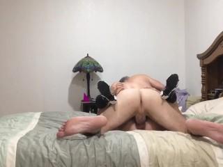 Sex Gladiators Hot Milf Sucks Cock And Receives Creampie, Amateur Blonde Blowjob Creampie Milf
