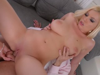 Romanian stunners Donna Bell Bijou fucked real hard during job interview