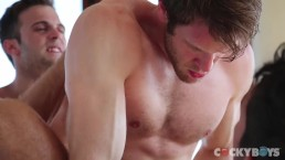 A Thing Of Beauty 4 - 3way with Colby Keller, Dale Cooper & Gabriel Clark