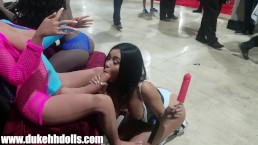 (UNCUT) Duke @ Exxxotica MIAMI!! 7/18 SEXY ASSes ALL AROUND!!!