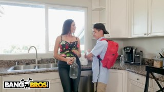 BANGBROS - Juan El Caballo Loco Borrows Milk From His Busty MILF Neighbor  big tits bang bros colombian big cock bangbros blowjob pornstar big dick busty milf hardcore brunette latina cougar big boobs mom is horny mih16222 huge tits
