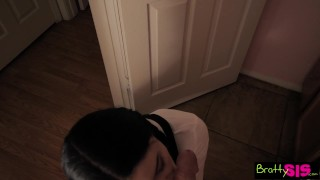 Quick on brother's before se cock step class ride huge bratty sis brattysis cock