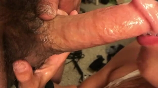 Pussy so good he cums twice!! Deep throat, doggy, cowgirl Nami big