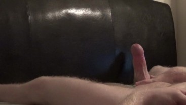 Squeezing Out A Huge Load For Britt -- JohnnyIzFine
