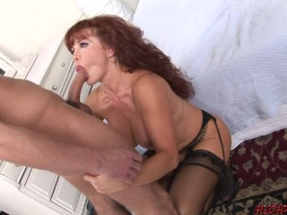 sexy big titted milf vanessa loves the young big dick