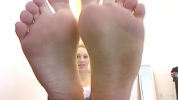 Close Up Foot Joi