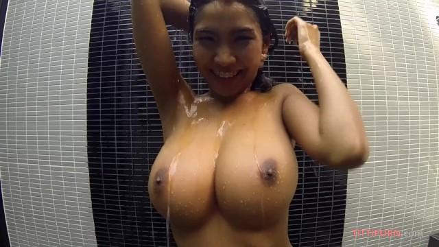 Ebony Big Natural Boobs