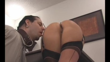 Barefoot Princess - Dept. of ass licking
