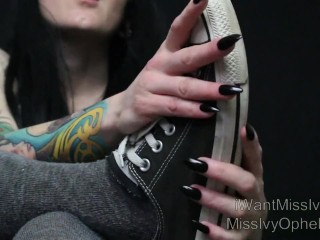 Sub s First Converse Cleaning Shoe Licking Bitch Training CFNM