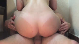 Twice tight handle cums the pussy he inside cant wet cock