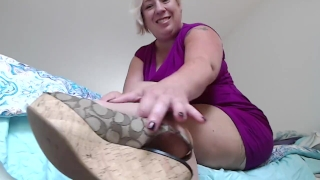 blond German young milf roleplay schoolgirl cum in mouth