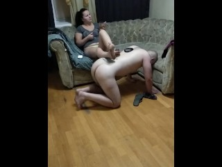 Foot stool dirty feet