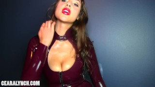 Femdom mindfuck brainwashing  point of view porn addict hypnosis brainwash hypno shiny femdom latex mistress mindfuck love addiction weakling surrender