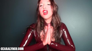 Ceara Lynch: Femdom Brainwashing  point of view porn addict hypnosis brainwash hypno shiny femdom latex mistress mindfuck love addiction weakling surrender