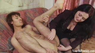 Bisexual Femdom And Gay Fantasy Domination Porn