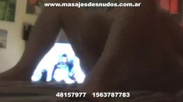 CHUPADA DE PIJA GARGANTA PROFUNDA MASAJISTA