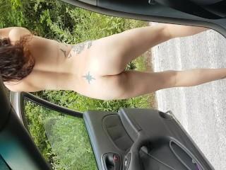 Wife does keke challenge naked