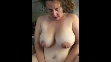 Slutty homemade amateur wife Blowjob in early pregnancy