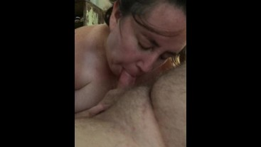 Slutty amateur homemade wife Blowjob 32