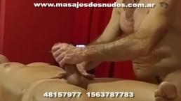 BODY MASSAGE DE FRENTE CON PENEANO TOTAL