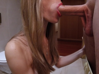 Intense Blowjob with Cum in Mouth - Amateur