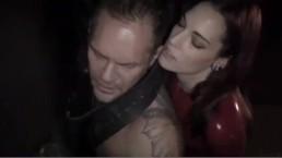 Nacho Vidal gets stuck ass by lesbian with dildo like a passive gay