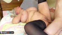 AgedLovE Sexo duro con mujeres maduras tetonas