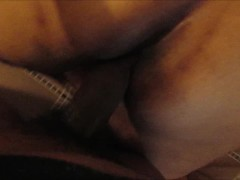 BBW Face down ass up pounding from BBC she cant stop creaming on his dick