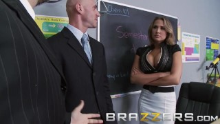 Brazzers - Alanah Rae & Johnny Sins - Mean Teacher Fuck Her Former Student Foot feet