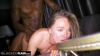 BLACKED RAW Intense Hardcore Compilation Cumshot double