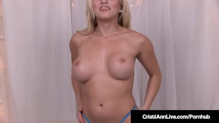 Horny small with her asshole pokes hot cristi ann toy cristiannlive masturbation