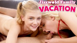 Part 2, Teens End Vacation With Hot Family Fuck And Facial S4:E1