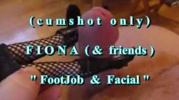 B.B.B. preview: Fiona (&friends) Footjob & Facial (cumshot only)