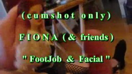 B.B.B. preview: Fiona (&friends) Footjob & Facial (cumshot only)
