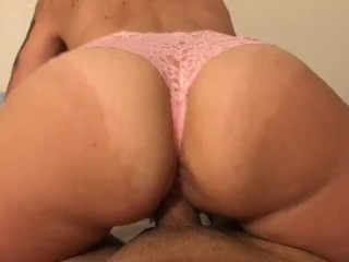 Megan Wright pawg panties get deep creampie