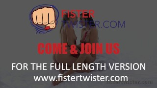 Fist Fuck - Vanessa Decker orgasms while being fisted fast by hot blonde Lesbea.com fake