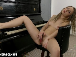 Margaret has an amazing hairy pussy