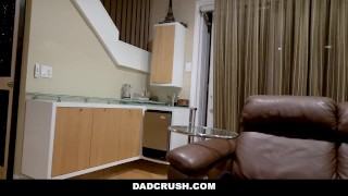 DadCrush - Stepdad Has a Kinky Secret  doggy style teen reverse cowgirl blowjob pov missionary young dadcrush cock sucking brunette latina shaved stepdaughter big butt