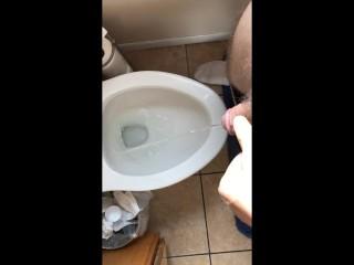 me Standing to pee