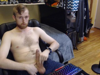 SEXY CANADIAN UNIVERSITY GUY JERKS OFF ON LIVE CAM FOR AUDIENCE NO CUMSHOT