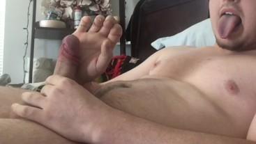 Pussy Licking Fantasy CEI, I Cum Twice! Camgirl Impressed on Chaturbate