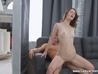 Casual Teen Sex - Sofy Torn - Teen seduces her college tutor