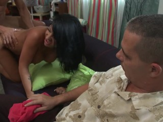 My husband is a cuckold fuck my pussy while he s watching