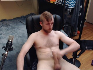 WEB CAM MODEL WANKS AND BUSTS NUT ALL OVER HAIRY CHEST. SEXY CANADIAN FRAT